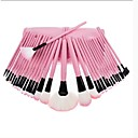 Hot Sale Professional Makeup Brush Set with 32Pcs Brushes and Pink Bag