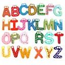 3d adesivos de parede, o Inglês alfabeto imã adesivo de parede