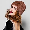 acessórios de peles chapéu de pele de coelho rex cabelo chapéu fashion pele (mais cores)