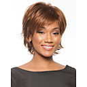 New High Quality Capless Short Wavy Mono Top Human Hair Wigs Six Colors to Choose
