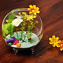 Table Centerpieces Glass Garden Theme Fish Bowl   Table Deocrations (Sand Not Included,Flowers Not Included)