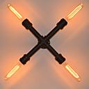 Vegglamper Pære inkludert Rustikk Metall