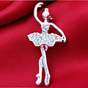 Hollywood Hipster Essential Alloy And Rhinestone Brooches