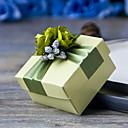 Geschenk Schachteln ( Gold/Grün/Rosa , Perlenpapier ) - Nicht personalisiert -Hochzeit/Jubliläum/Brautparty/Babyparty/Quinceañera & Der