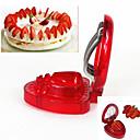 dispositivos da cozinha morango fatiador de frutas cortador de cozinha ferramentas de bricolage