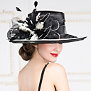Women's Organza Headpiece - Wedding/Special Occasion/Outdoor Hats 1 Piece