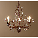 Tree Branch Pendant K9 Crystal Nordic Country Style 220-240V