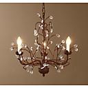 Lustres/Luzes Pingente - Metal - Cristal/LED - Sala de Estar/Quarto/Sala de Jantar/Quarto de Estudo/Escritório/Corredor