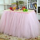 ropa de mesa decoración de la boda [paquete de 80 * 91.5cm] poliéster no personalizada