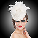 Women's Feather Headpiece - Wedding/Special Occasion Fascinators/Flowers 1 Piece