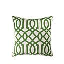 géométrique couverture taie d'oreiller moderne / contemporaine