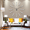 New Modern Design High Quality Silent 3D DIY Wall Clock 12S012