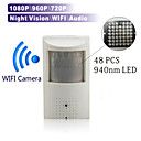 Caméra IP - Box - Jour Nuit/Détection de présence/Dual Stream/Accès à Distance/Coupure infrarouge/Wi-Fi Protected Setup/Prêt à l'emploi -