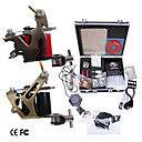 professionele tattoo machine kit aangevuld set met 2 tattoo machine guns