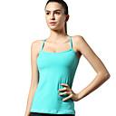 Shyelemon ® Yoga Hauts/Tops Perméabilité à l'humidité / Matériaux Légers Extensible Vêtements de sport Yoga / Fitness / Course Femme