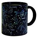 1piece 10oz warmte veranderen 's nachts ster constellatie mok keramische kopje koffie