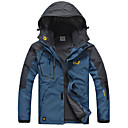 Outdoors Men's Waterproof Camping Hiking Windstopper Trekking Windbreaker Ski-Suit Jacket-A