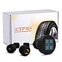 TPMS carchet sistema di monitoraggio della pressione dei pneumatici + 4 sensori esterni accendisigari