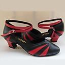 Aanpasbaar - Voor dames - Dance Schoenen ( Zwart ) - met Chunky Hak - en Latijn