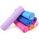 PVC Yoga Mats 173*61*0.6 Non Toxic (1/4 inch) 6 Pink / Red / Green / Orange / Purple / Dark Blue / Light Blue Also Kang