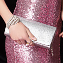 Handtaschen / Kupplungen eleganten Seiden mit glänzenden Pailletten (mehr Farben)