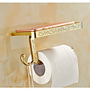 WC-Rollenhalter , Antik Gold Wandmontage