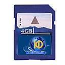 כרטיס מפת GPS כבוד, עם כרטיס SD סטנדרטי 4GB