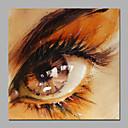 grandes peintures acryliques de l'oeil moderne 50x50cm taille de conception de salle de bain