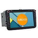 Android 5.1.1 Lollipop Car DVD Player for Volkswagen Skoda Quad Core 8 Inch 1024*600 GPS Navigation