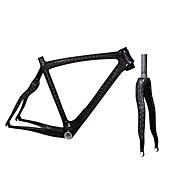 Vejramme Fuld Carbon Cykel Ramme 700C 3K 12K cm Tommer