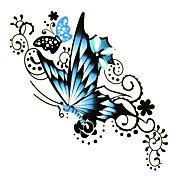 5 Pcs Butterfly Waterproof Temporary Tattoo(6m*6cm)