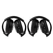 2 PCS infračervená bezdrátová  sluchátka IR-2011D