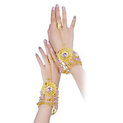 Metal With Rhinestone Belly Dance Bracelet More Colors Available (1 Piece)