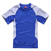 Hombre Camiseta para senderismo Secado rápido Permeabilidad a la humeda Camiseta para Camping y senderismo Escalada Deportes recreativos