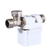 12v 0,5 pulgadas de la válvula solenoide eléctrico de agua a gas de aire (blanco)