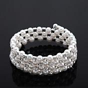 豪華なクリスタル/人造真珠♥ウェディング♥ブレスレット