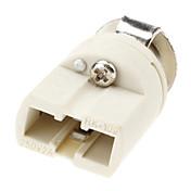 G9ベース電球ソケット陶磁器ランプのホールダー