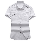 PPZ la camisa de algodón manga corta básica