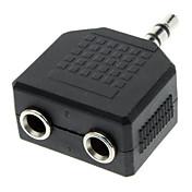 3.5mm macho a hembra adaptador de Split Audio Dual