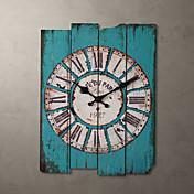 """H15 """"Country Style Light Blue reloj de pared"""