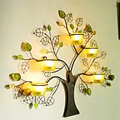 """24.5 """"Green Tree Style Pět držáky Svícen"""