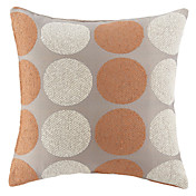 18「Squardファッションドットテクスチャシェニールポリエステル装飾的な枕カバー