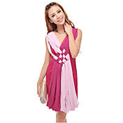 Mujeres GIMFI Spell moda vestido del color