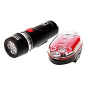 自転車用ライト / 自転車用ヘッドライト / 後部バイク光 LED サイクリング 防水 14500 / 単三電池 100 ルーメン バッテリー サイクリング-照明