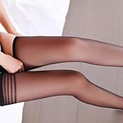 女性のセクシーな透明なストッキング
