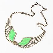 Declaración de la vendimia de las mujeres btime perla del collar del ala