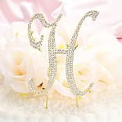 Decoración de Pasteles No personalizado Diamantes Sintéticos Oro / Plata Tema Clásico Bolsa PVC