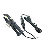 Profesionální Nastavitelné Prodlužování vlasů Žehlička Fusion Keratin tepla Konektor Wand Iron Black US Plug