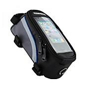 ROSWHEEL® Bolsa para Bicicleta 1/1.2/1.5LBolsa para Cuadro de Bici Bolso del teléfono celularImpermeable Banda reflectante Listo para