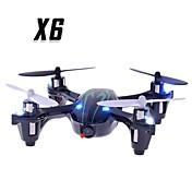 Dron X6 4 Canales 6 Ejes Con Cámara Quadcopter RC Mando A Distancia